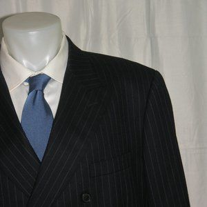 Brooks Brothers Madison Vitale DBL BRSTD Suit 48R